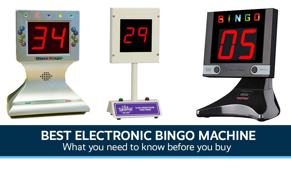 Online Bingo Machine