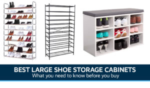 Best Large Shoe Storage Cabinets