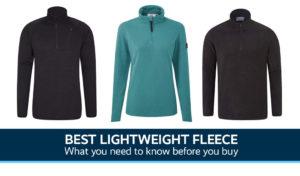 Best Lightweight Fleece UK