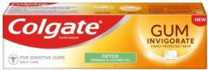 Colgate Gum Invigorate Detox Toothpaste