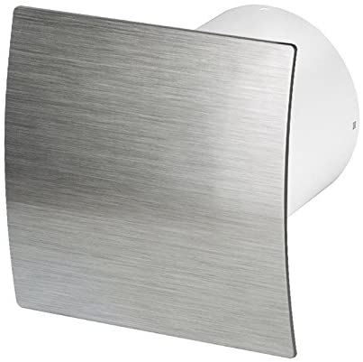 "AirTech Uk Bathroom Extractor Fan 100mm / 4"" with Timer Humidity Sensor Humidistat ES-100H by Awenta"