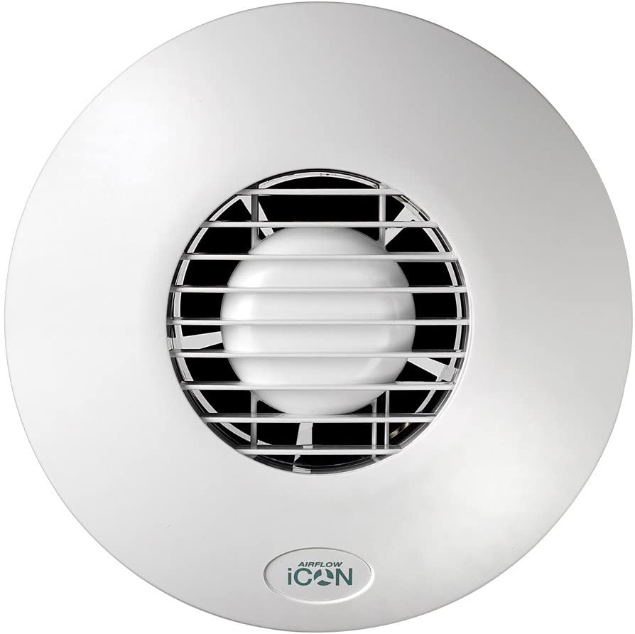 Airflow iCON 30 Extractor Fan 240V 100mm Outlet, 14 W
