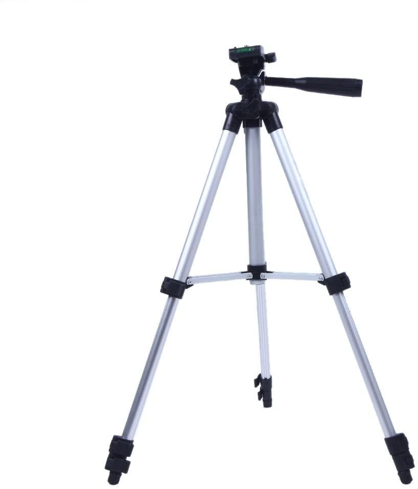 Andoer 3110A Pro Camera Tripod Lightweight Flexible Portable Three-way Head for Sony Canon Nikon