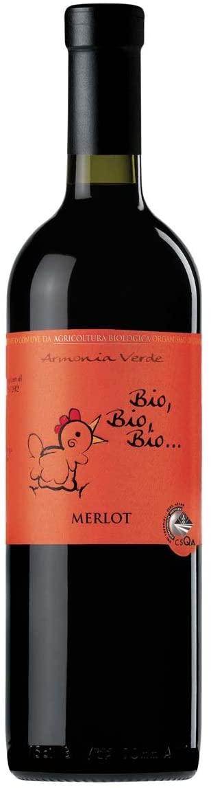Bio Bio Organic Merlot Red Wine 75cl (Case of 6)