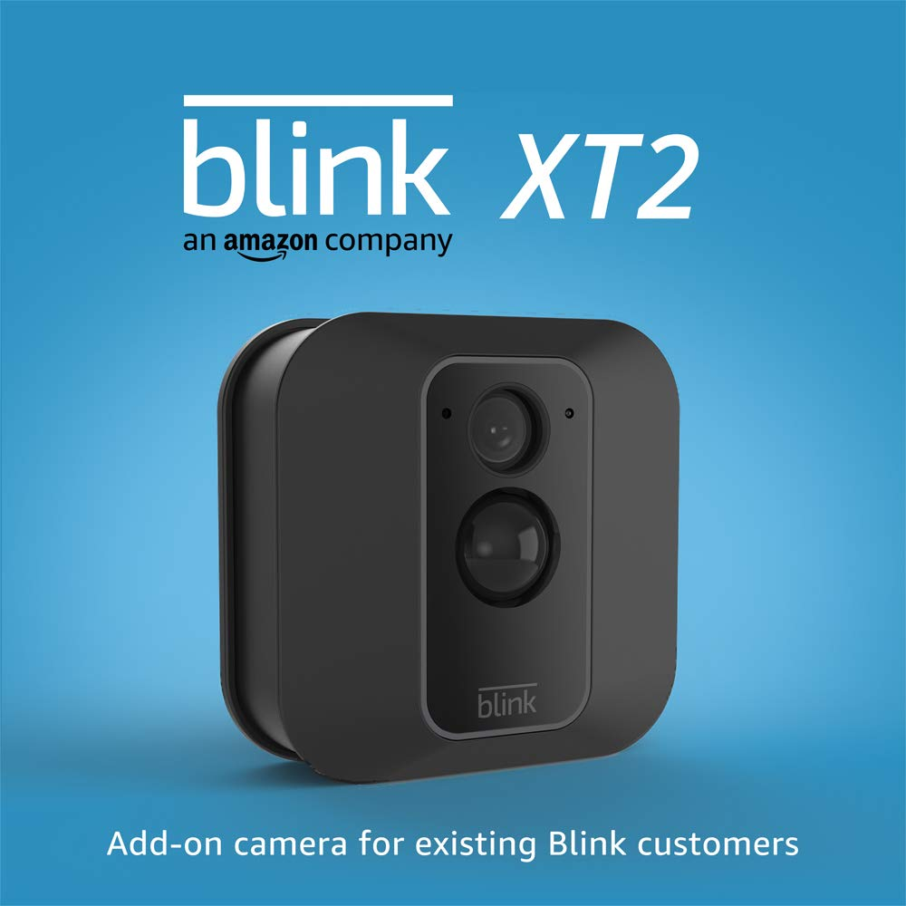 Blink XT2 (2nd Gen) | Outdoor/Indoor Smart Security Camera with Cloud Storage, 2-Way Audio, 2-Year Battery Life | Add on Camera for existing Blink customers