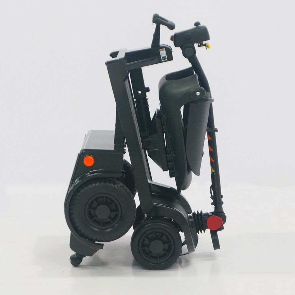 Deluxe Easy Folding Mobility Scooter-Electric Scooters for Adult Black