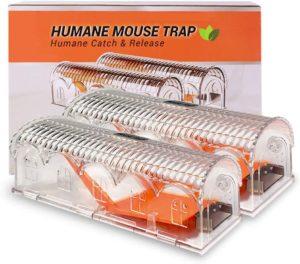 Eterbiz Humane Mouse Trap 2 Pack, Reusable