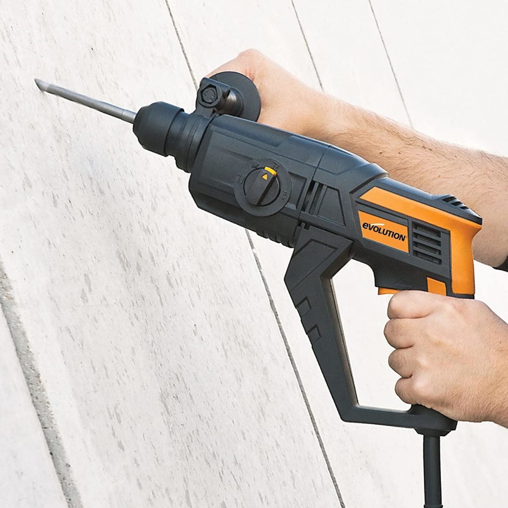 Evolution Power Tools SDS4-800 4 Function Hammer Drill (230 V)