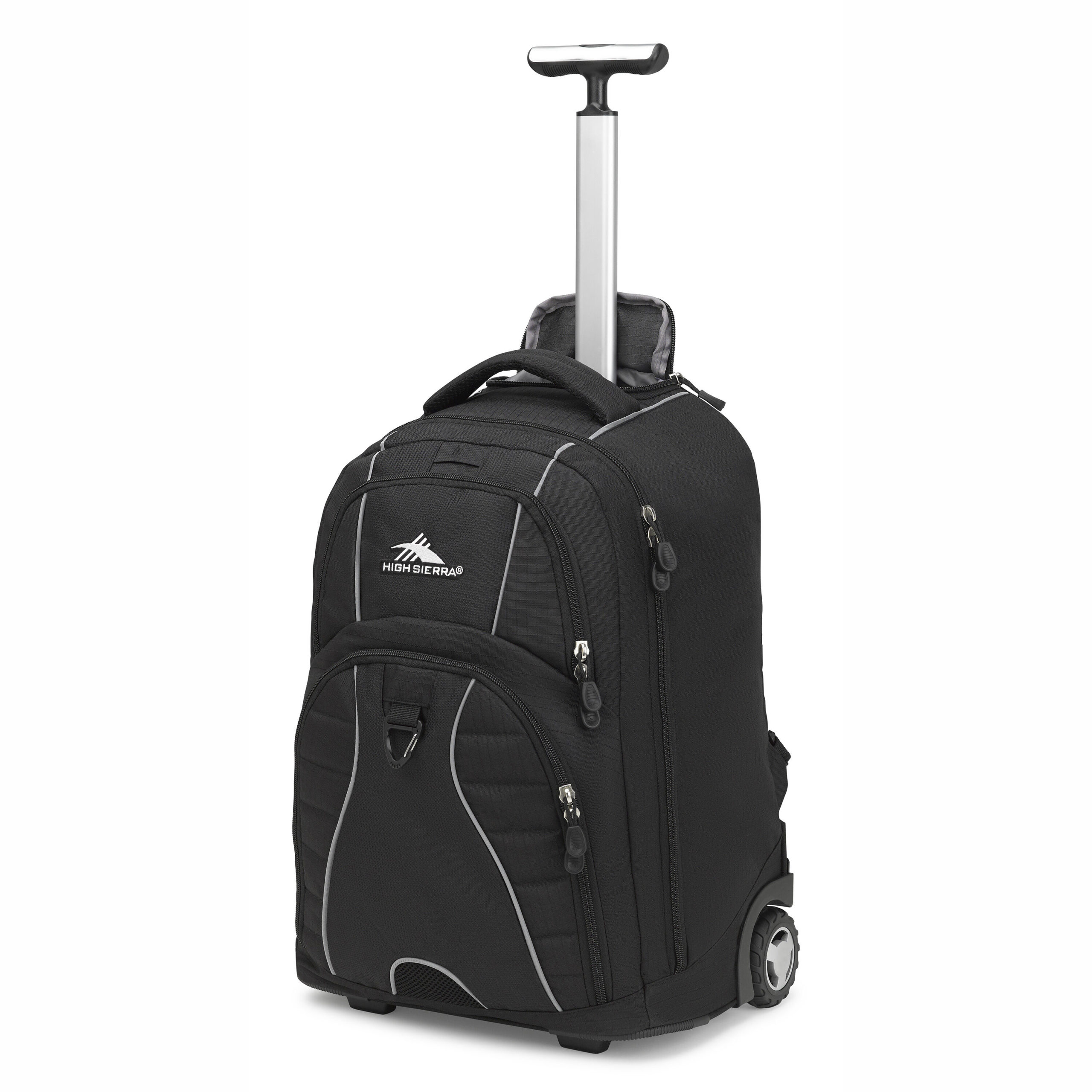 High Sierra Freewheel Wheeled Laptop Backpack, Great for High School, College Backpack, Rolling School Bag, Business Backpack, Travel Backpack, Carry-on Bag Perfect for Men and Women