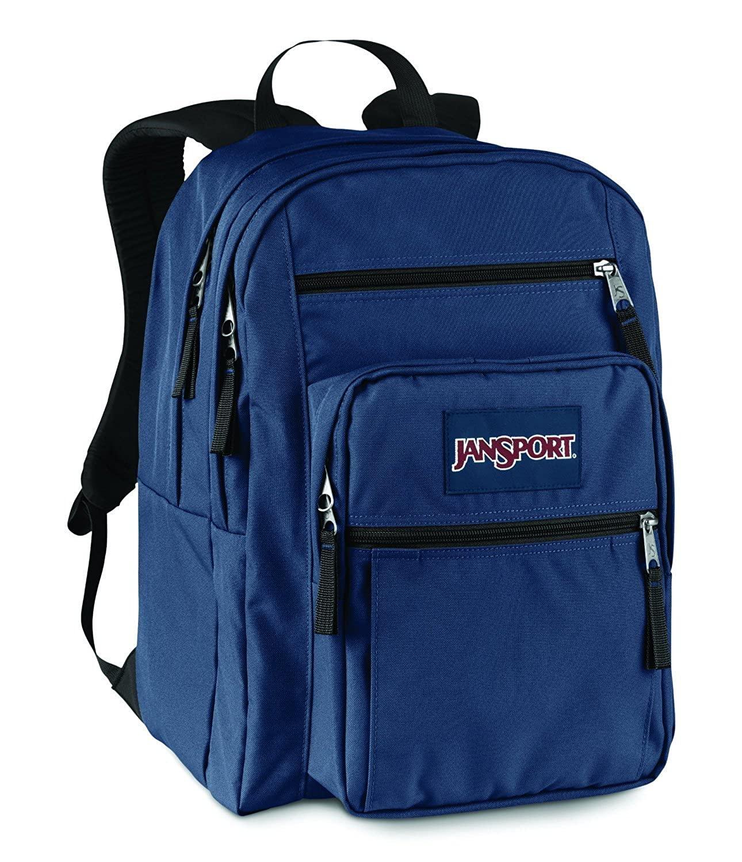 JanSport Big Student Classics Series Daypack NAVY