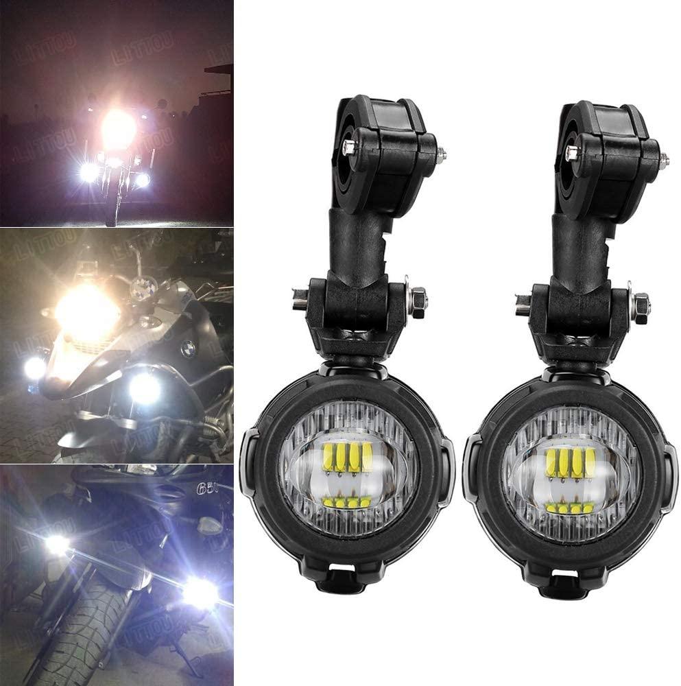 LED Motorcycle light auxiliary
