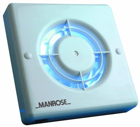 Manrose 4-inch Standard Bathroom Extractor Fan