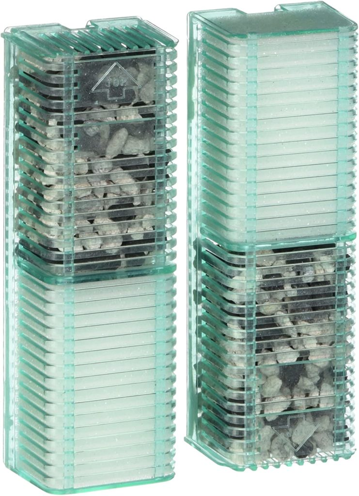 Penn-Plax Small World Replacement Aquarium Filter Media Cartridges with Bio Sponge, Carbon, and Zeolite Crystals (2 Pack) – Safe for Freshwater and...