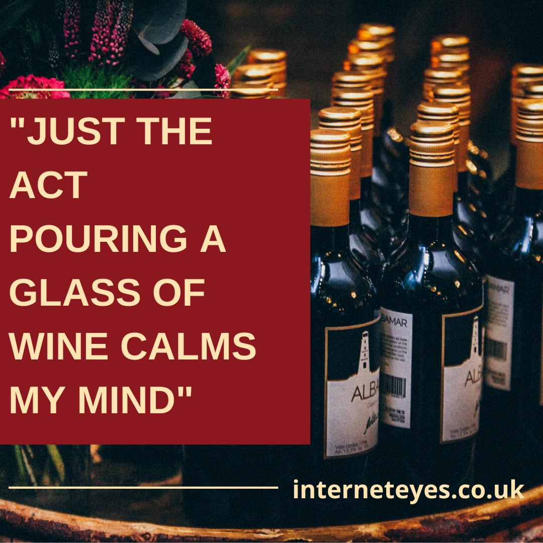 wine inspirational quote