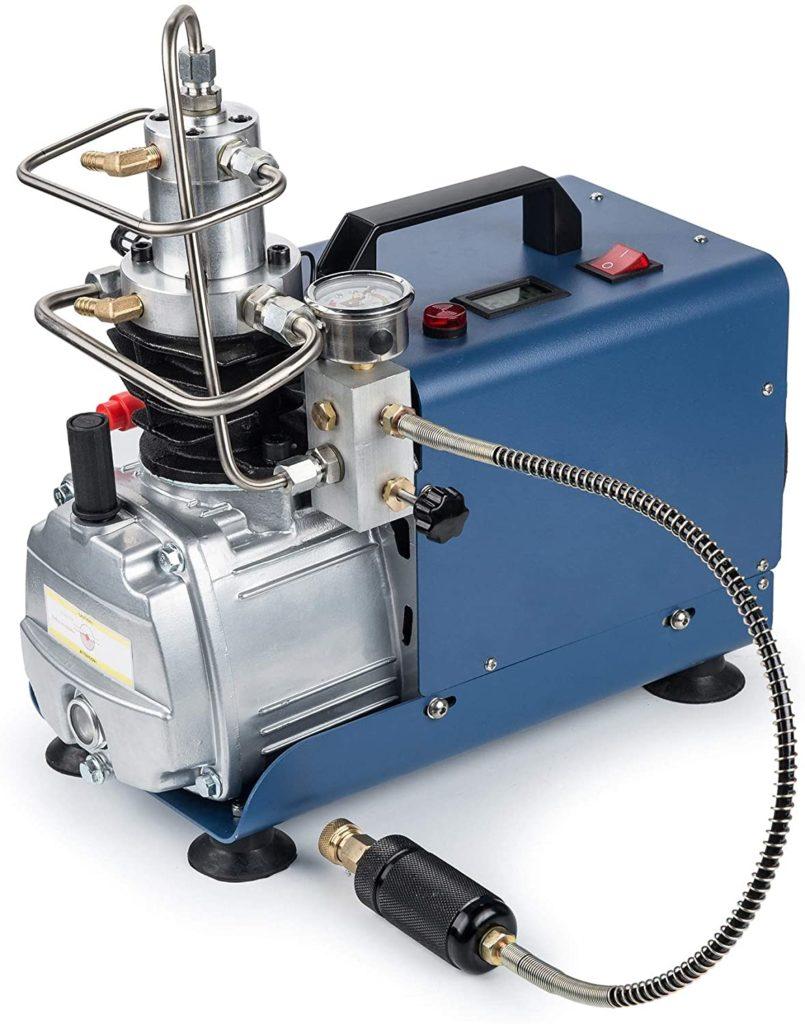 Sfeomi 300BAR 30MPA 4500PSI High Pressure Air Pump Adjustable Pressure Auto Stop Electric Air Compressor, PCP Air Pump for Compressed Air Gun HPA Airsoft Paintball Airgun Rifle PCP