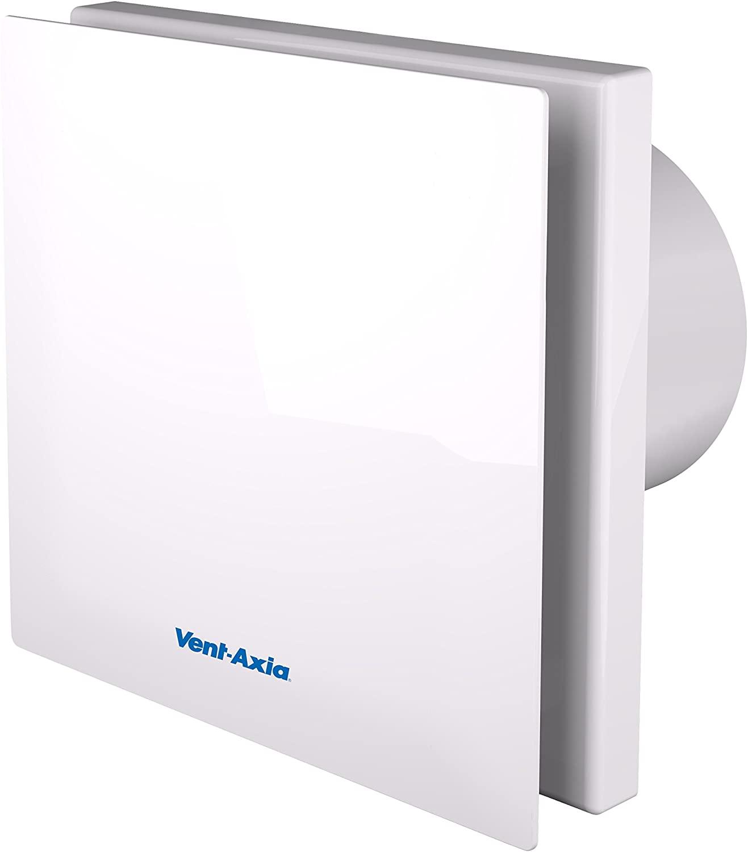 Vent-Axia 446658B Silent Axial Bathroom/Toilet Fan, 230 V, White