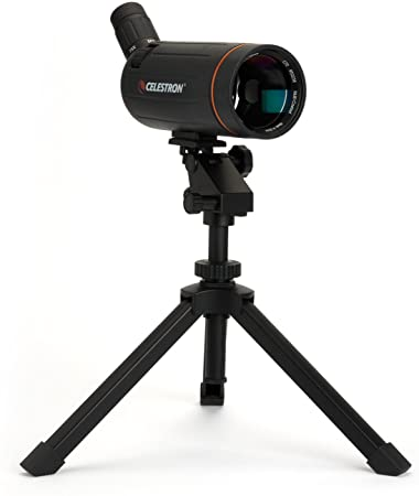 Celestron Hummingbird Fast Action Pan Tilt Head Tripod - Excellent Choice for a Spotting Scope, Binocular or Camera