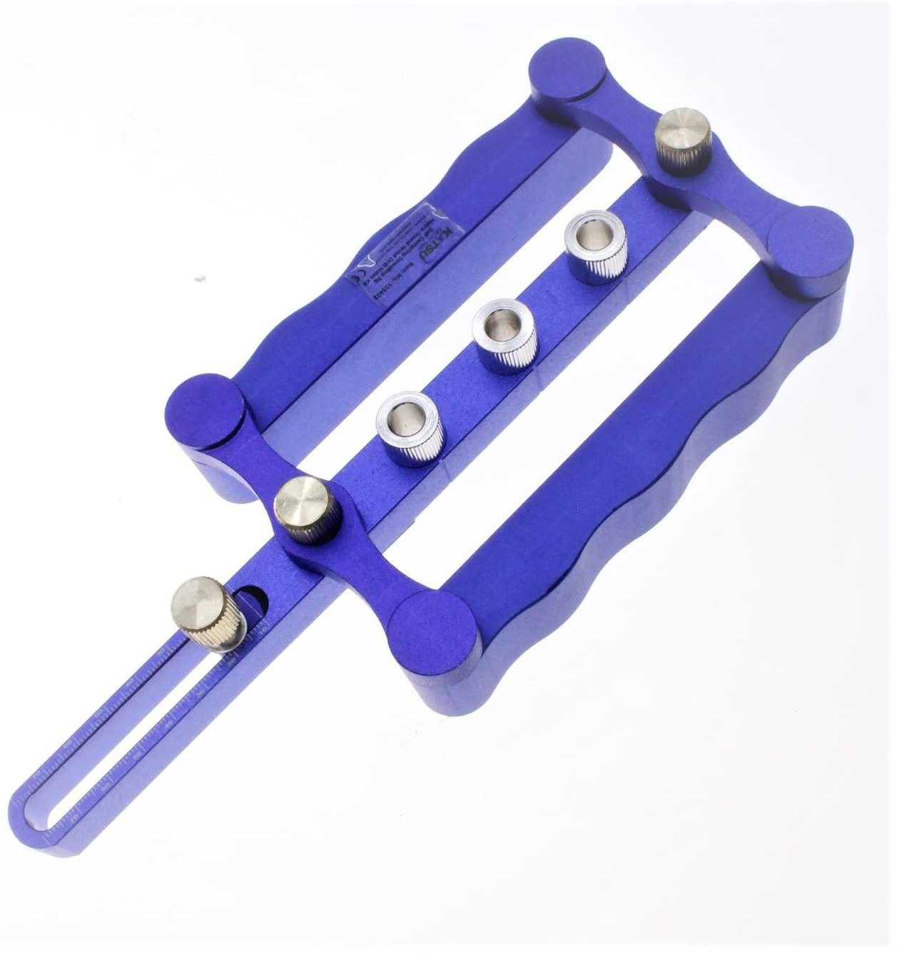 105403 Katsu Tools Self Centering Dowelling Jig Metric Dowel Wood Drill Holes Kit