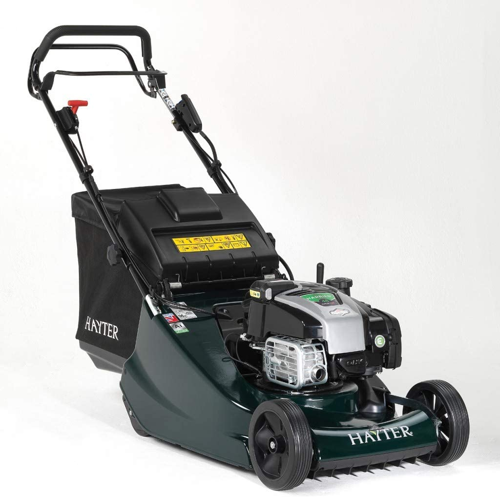 H. Hayter Harrier Roller Petrol Lawnmower