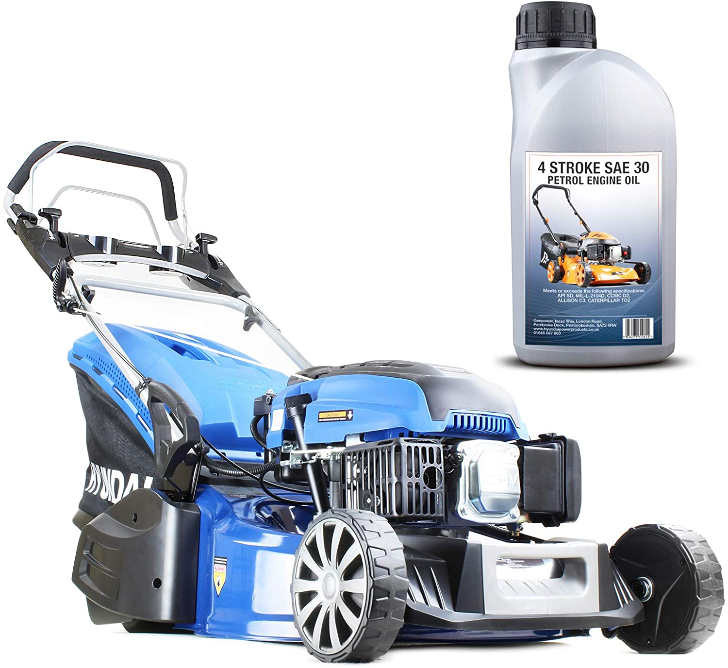 Hyundai Petrol Rear Roller Lawnmower