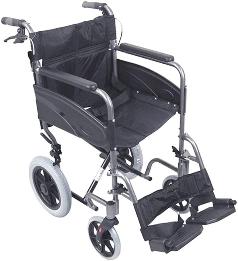 Aidapt Compact Transport Aluminium wheelchair