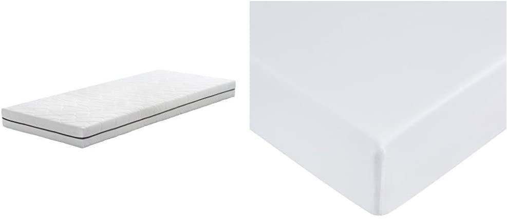 AmazonBasics Extra Comfort 7-Zone PU-Foam Mattress