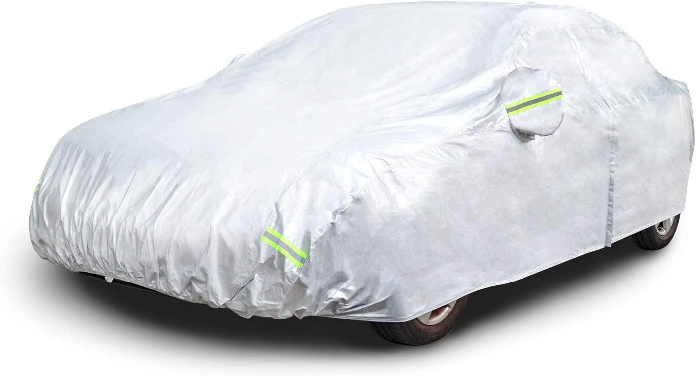 AmazonBasics Weatherproof Car Cover
