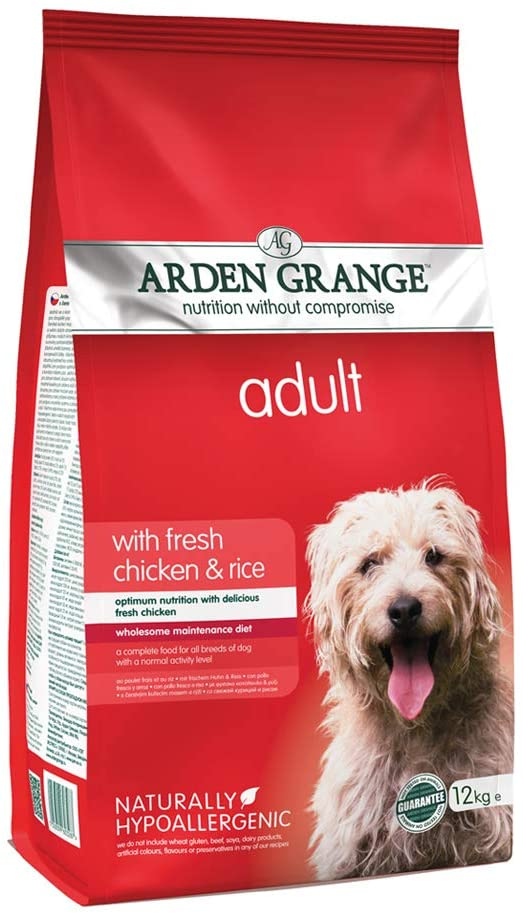 Arden Grange Adult Dry Dog Food Chicken and Rice