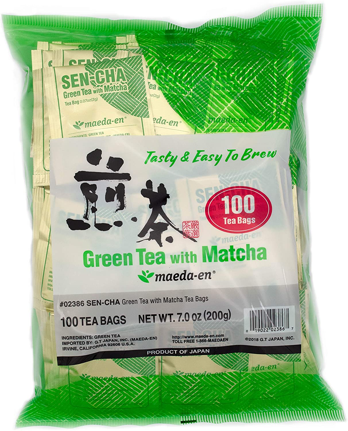 Authentic Maeda-en Green Tea