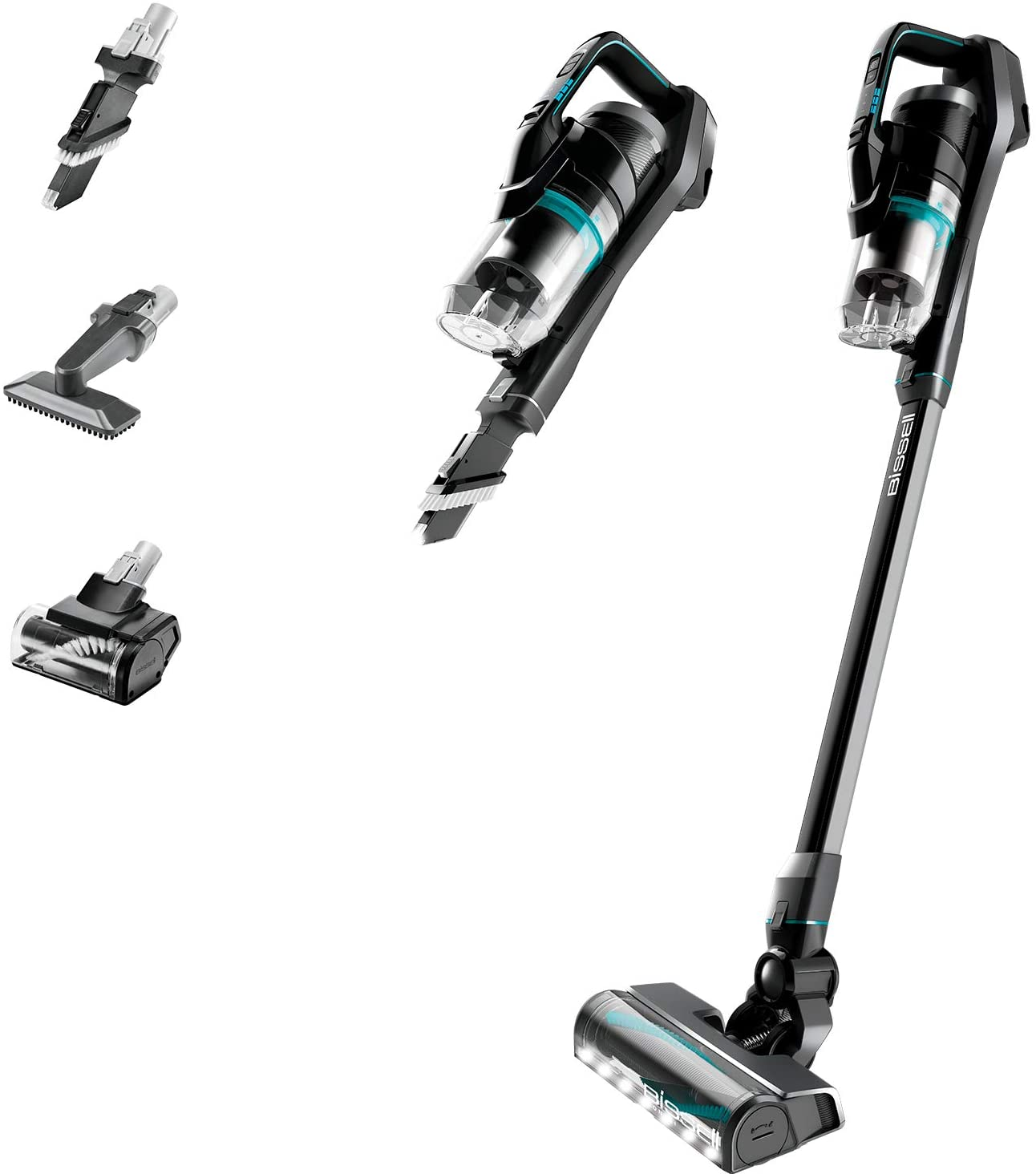 BISSELL Homecare 2602E, ICON Pet 25V Cordless Vacuum, Black/Electric Blue