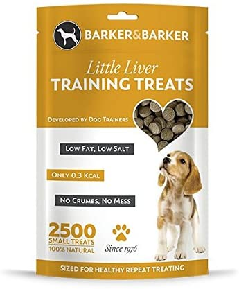 Barker and Barker Little Liver Dog Treats