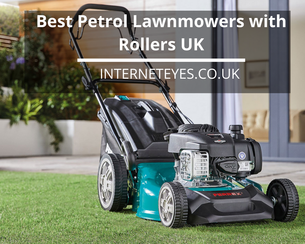 Petrol Lawnmowers with Rollers UK