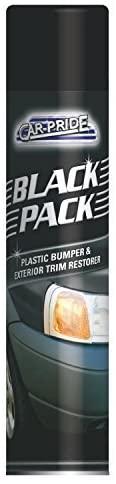 Car Pride Black Plastic Bumper and Trim Restorer Spray