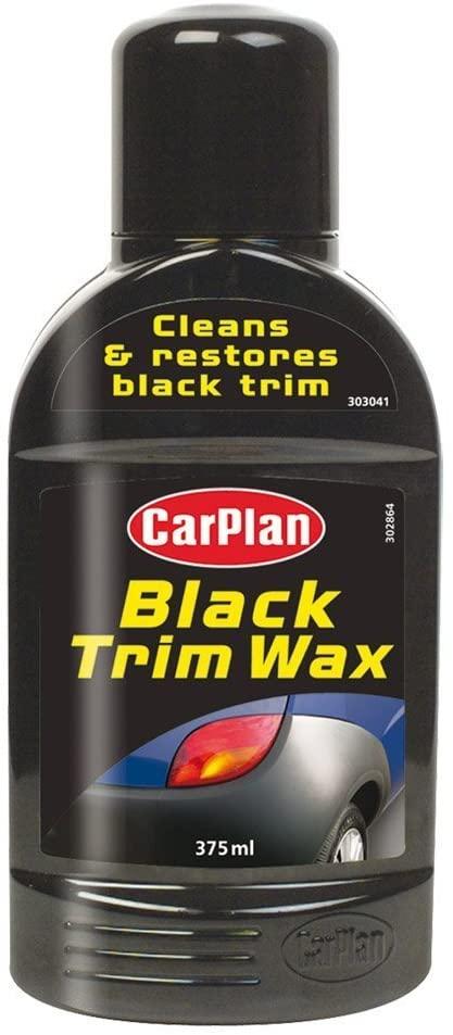 Carplan BTW375 Trim Wax, Black