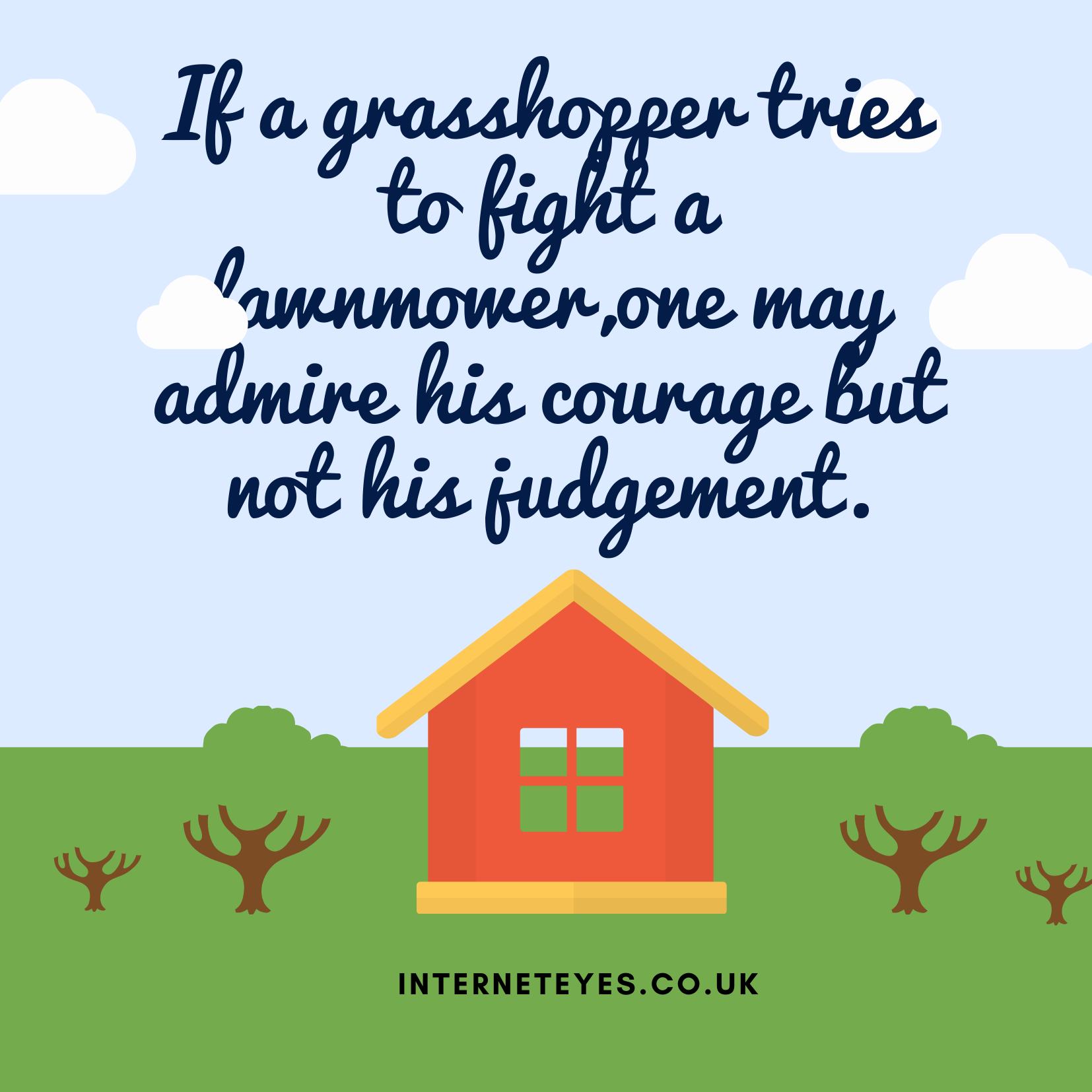 lawnmowers quote image