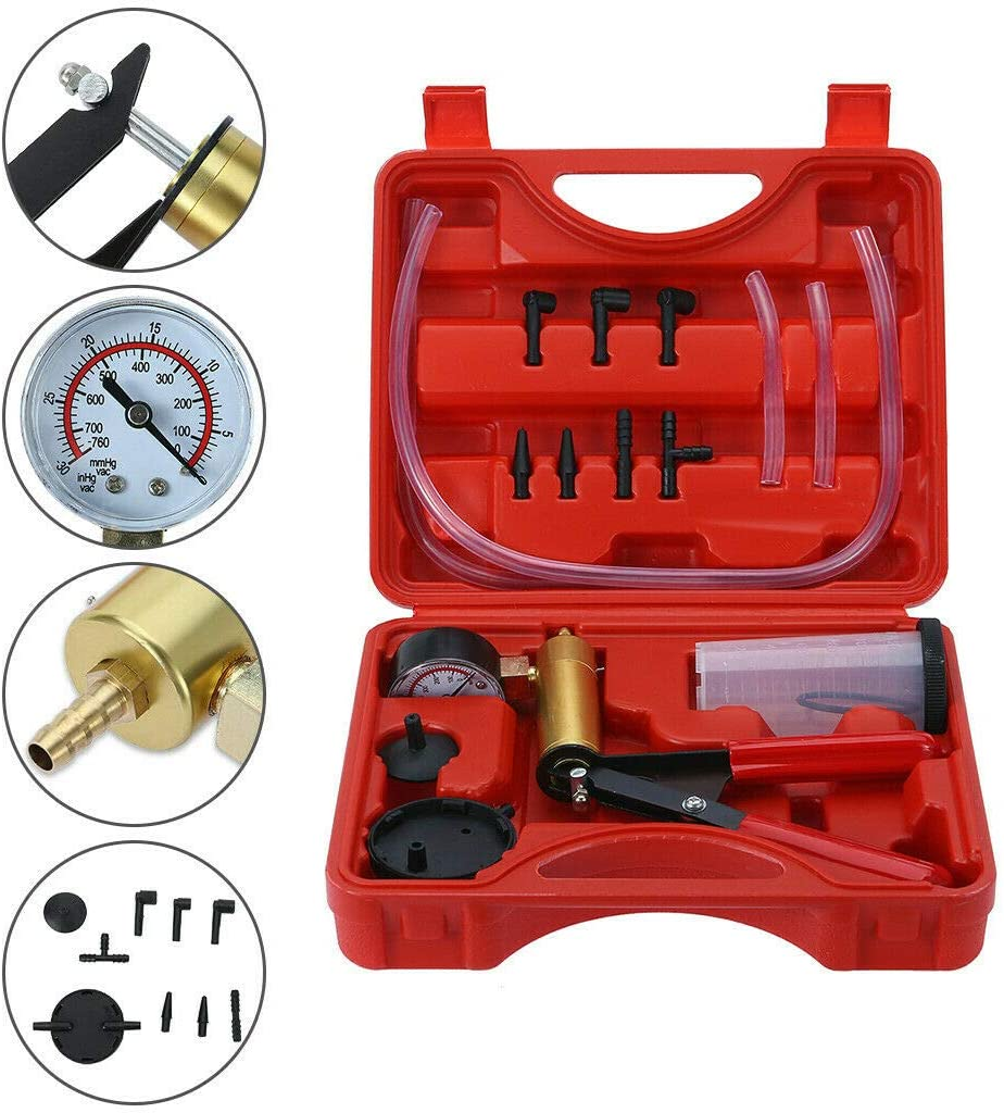 DiscountSeller Hand Held Brake Bleeder Kit