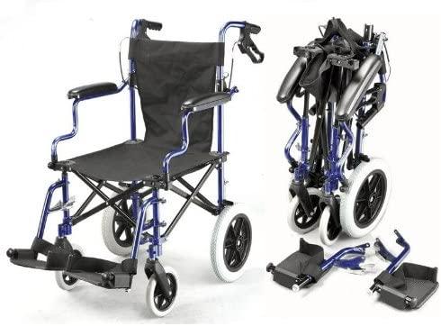 Elite Care Deluxe Folding Wheelchair