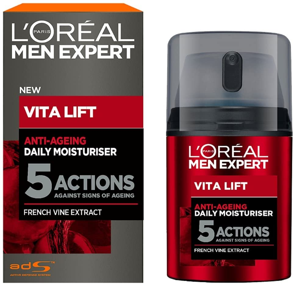 L'Oréal Paris Men Expert Anti Ageing Moisturiser, 50ml