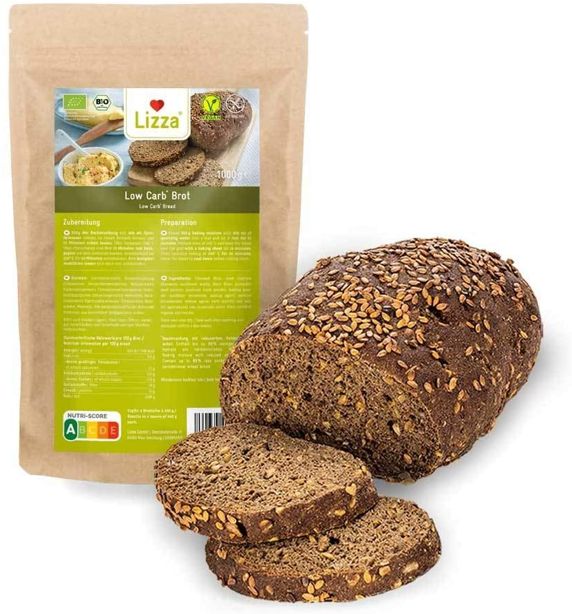 Lizza Low Carb Bread Baking Mix