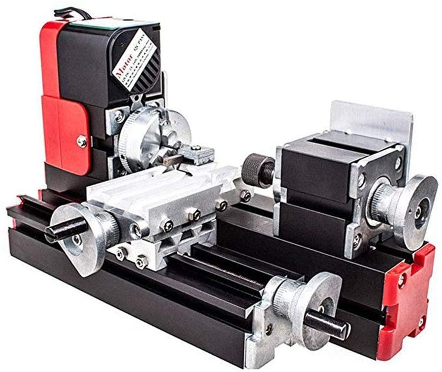 Mini Lathe Machine,12V Miniature