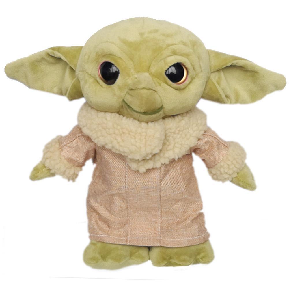 N/C Plush Toy 45Cm Funny Stuffed Toy For Kermit The Frog Plush Toy Sad Frog Doll Toy Funny Soft Plush Baby Yoda