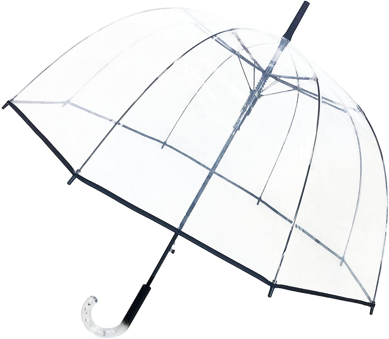 SMATI Clear Auto Stick Dome Umbrella