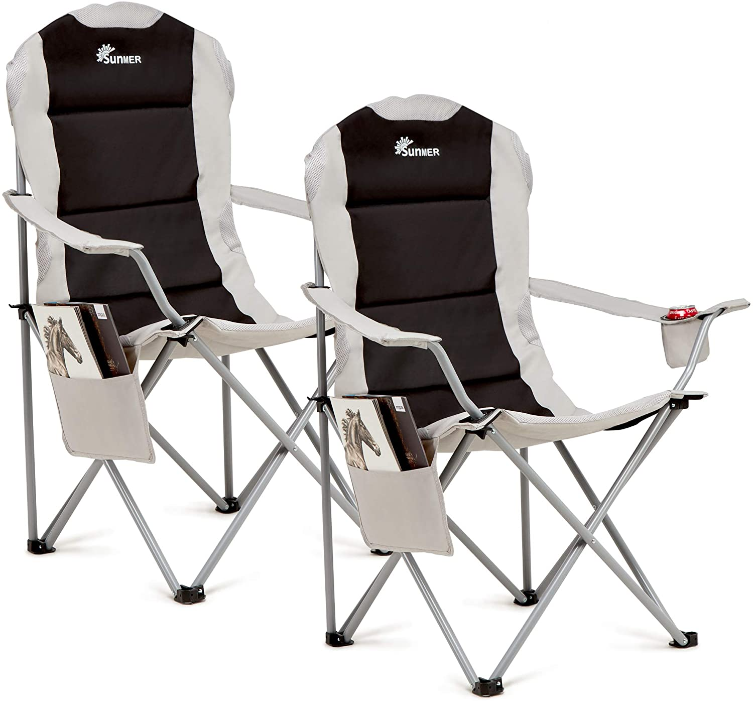 SUMMER Padded Camping Chairs
