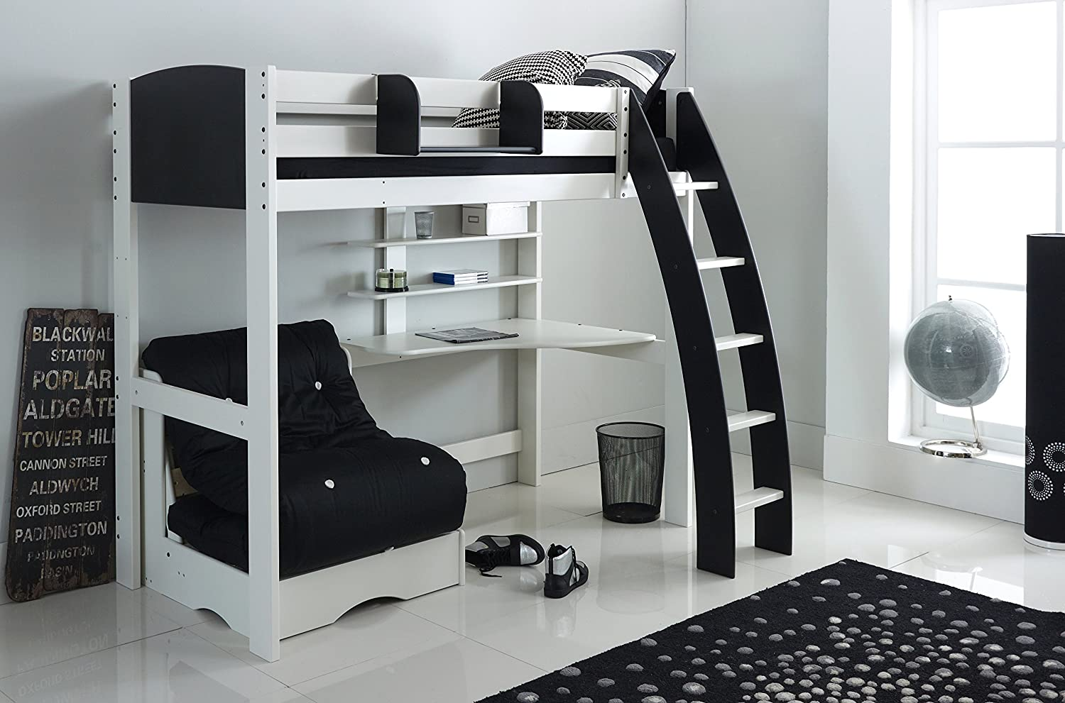 Scallywags Kids Exclusive High Sleeper Bed.