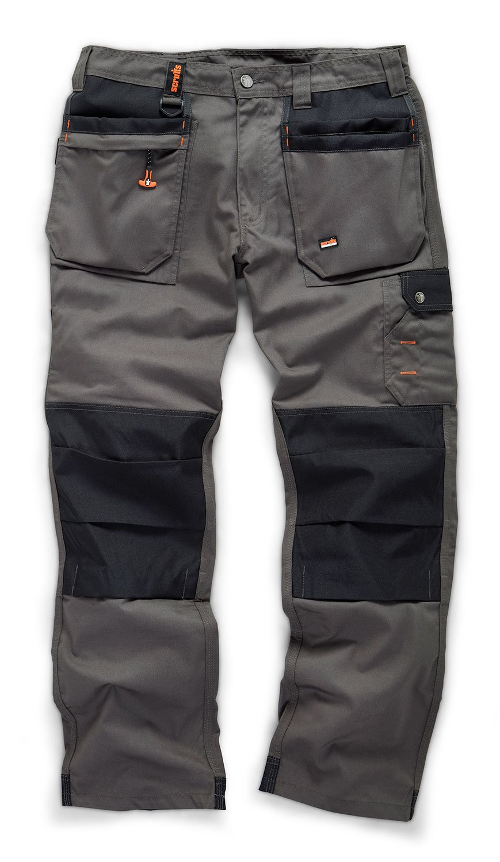 Scruffs Worker Plus Graphite Grey Work Trousers