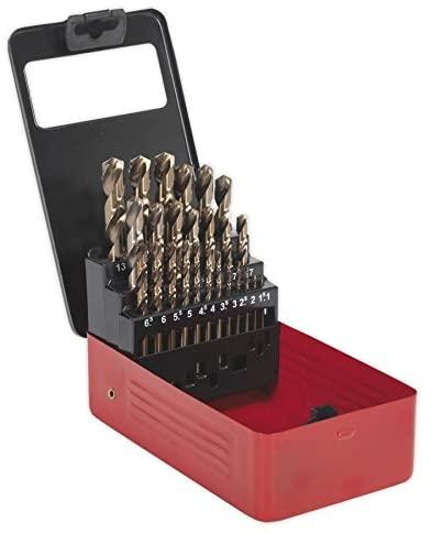 Sealey Cobalt Drill Bit Set