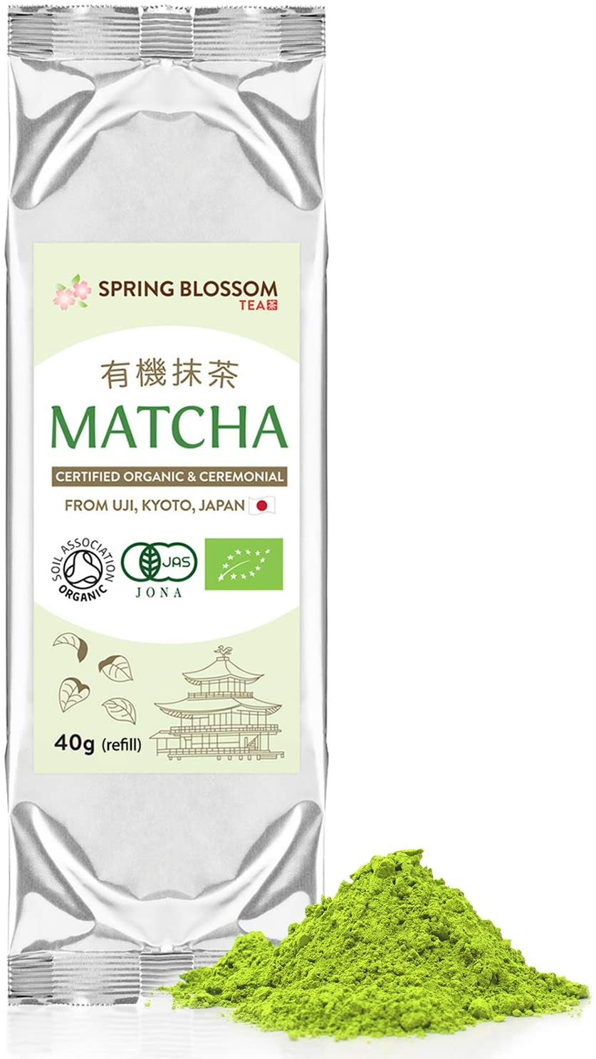 Spring Blossom Organic MATCHA Green Tea Powder
