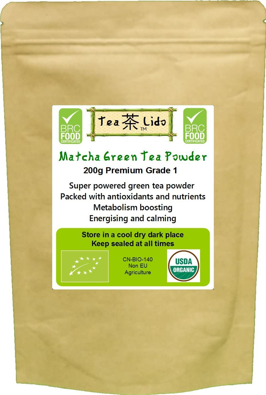 Tea-Lido Matcha Green Tea
