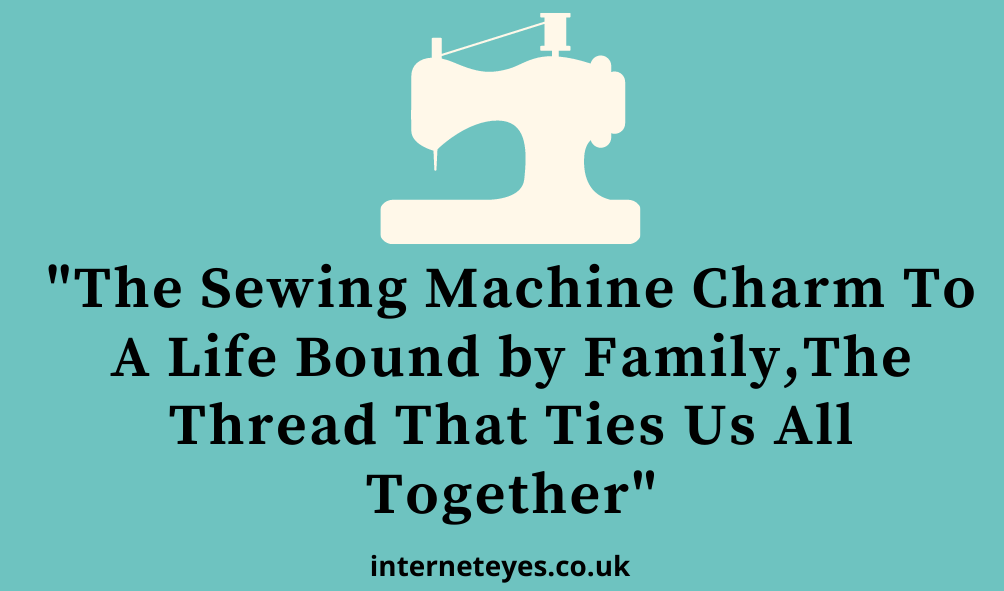 Sewing machine quote image