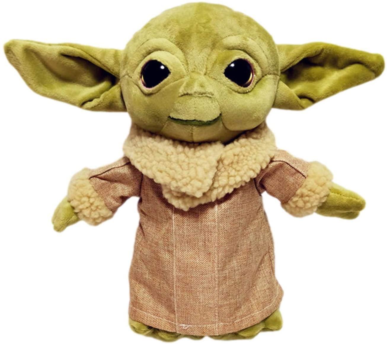 Teckey Baby Yoda Plush Doll Toy, Mandalorian Doll Toy Yoda Doll, Star wars Children's Birthday Gift
